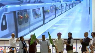 Delhi Metro Grey Line Inaugurated by Arvind Kejriwal And Hardeep Puri; Check Route of New Line Connecting Dwarka to Najafgarh