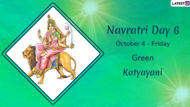 Navratri 2019 Day 6 Colour and Goddess: Worship Devi Katyayani, the Sixth Avatar of Maa Durga This Sharad Navaratri