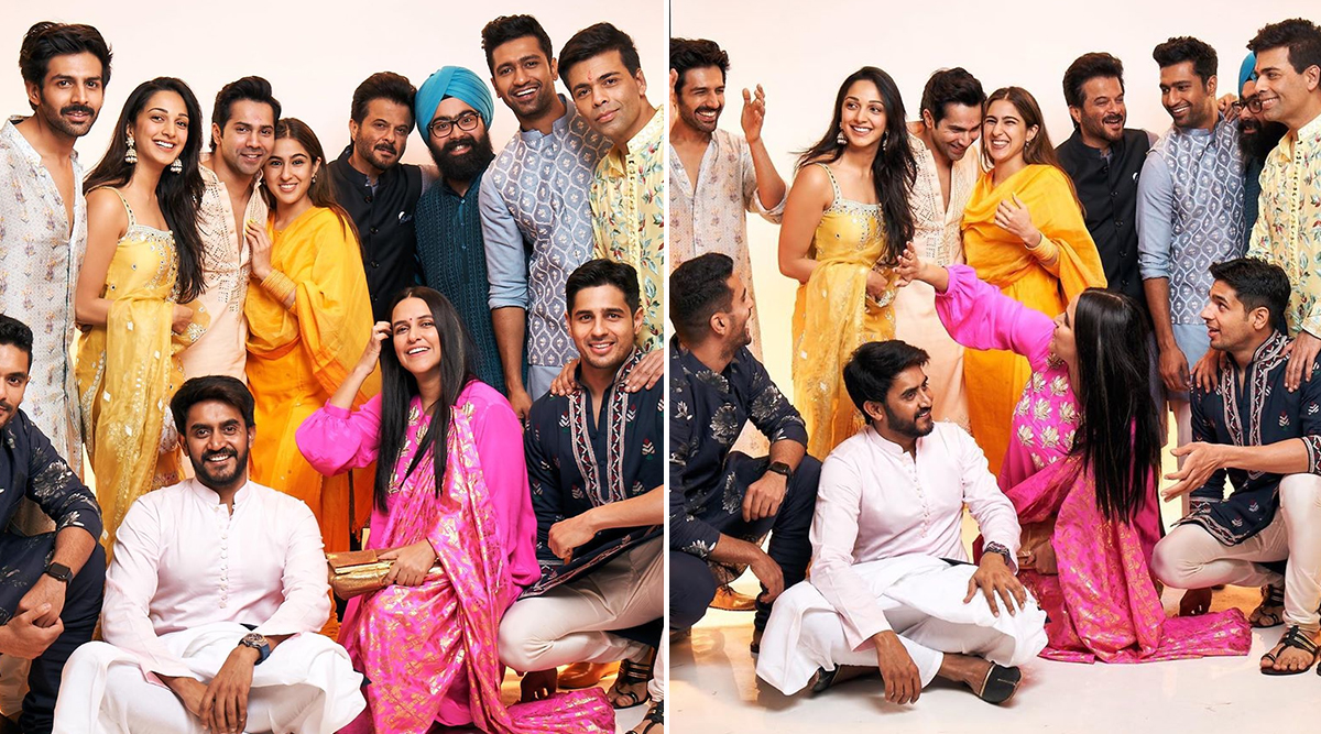 Diwali 2019: Karan Johar Brings Together Varun Dhawan, Sidharth Malhotra, Vicky Kaushal, Sara Ali Khan and Others For Star-Studded Picture Series