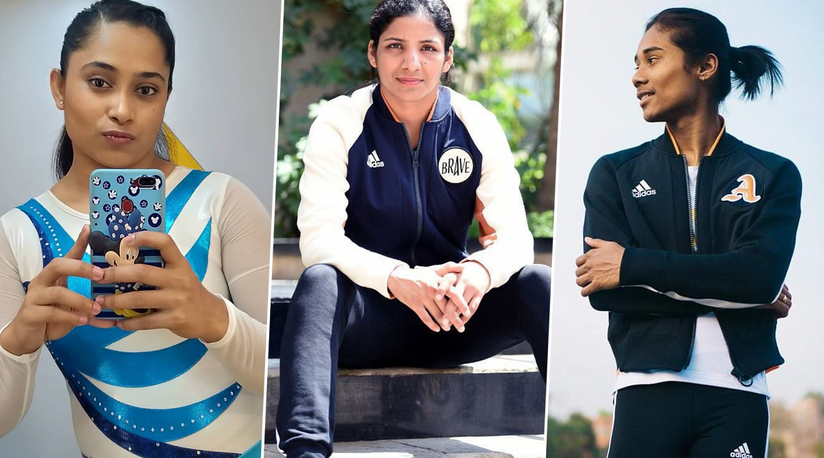 Hima Das, Dipa Karmakar and Simranjit Kaur Feature This New Ad and Win Hearts by Showing Working Hard in Silence Is the Way to Go!