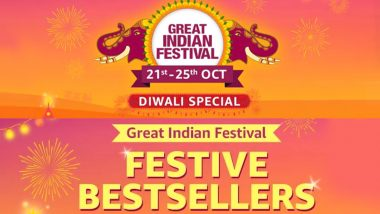 Amazon Great Indian Festival 2019 Sale Best Deals: Offers on iPhone XS, Vivo U10, OnePlus 7 Pro, Amazon Echo Dot & Samsung 4K Smart TV To Avail This Diwali