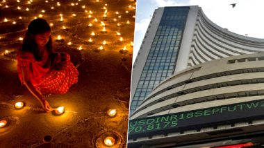 Diwali Muhurat Trading 2019 Underway: Sensex Rises Over 200 Points in Initial Rounds, Tata Motors Among Biggest Gainers