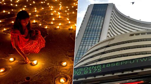Diwali Muhurat Trading 2019 Underway: Sensex Rises Over 200 Points in Initial Rounds, Tata Motors Among Biggest Gainers