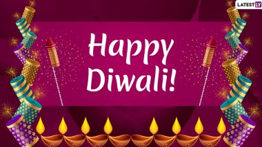 Happy Diwali 2019 Wishes & Greetings: WhatsApp Stickers, GIFs, Images, SMS, Quotes, Facebook Photos and Status to Send Shubh Deepavali Messages