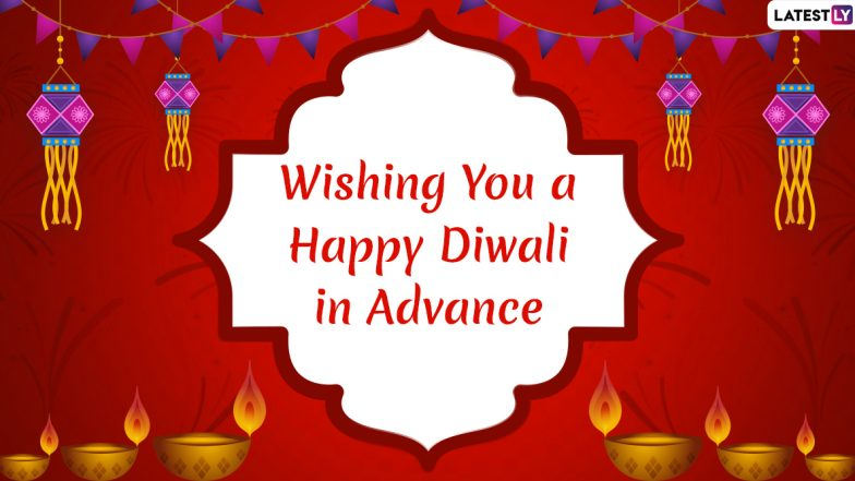Diwali 2019 Wishes in Advance: WhatsApp Stickers, SMS, GIF Image Messages, Quotes and Facebook Photos to Send Happy Deepavali Greetings First