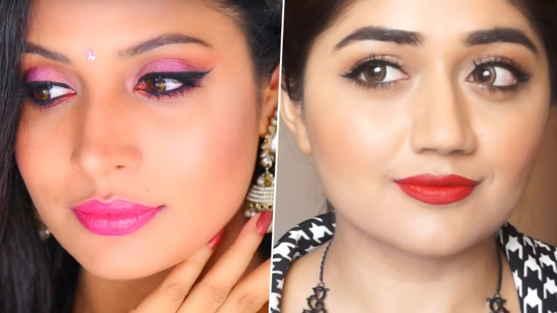 Diwali 2019 Makeup Ideas: 3 Easy, Glam and Versatile Looks for Lakshmi Puja and Diwali Party