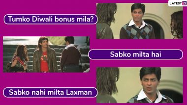 Diwali Bonus Jokes Are Here! Funny Memes to Share With Your Friends and Colleagues While You Wait For The Bonus This Festive Season