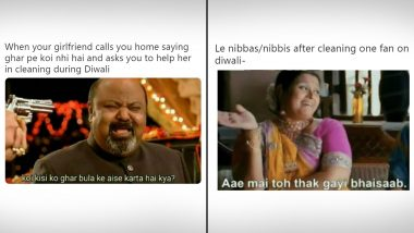 Diwali ki Safai Memes Are Here! Funny Jokes, TikTok Videos and Tweets You Can Enjoy While You Hold The Broom