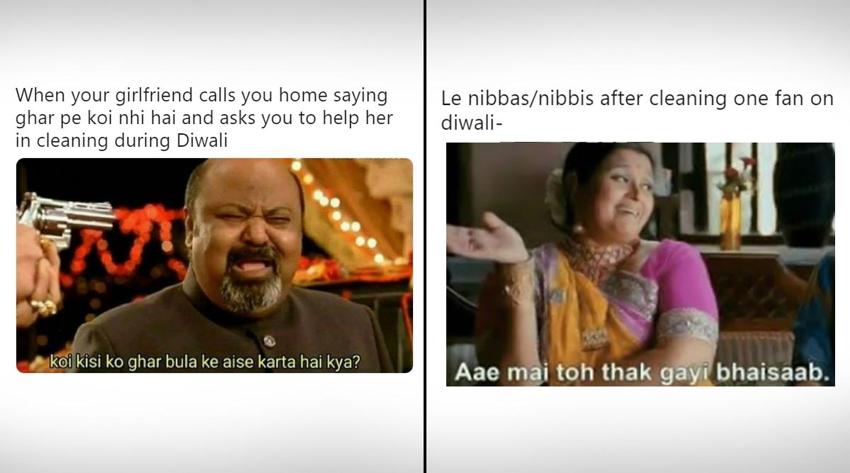 Diwali Ki Safai Memes Are Here Funny Jokes Tiktok Videos