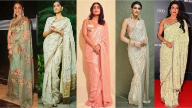 Diwali 2019: Kareena Kapoor Khan, Kriti Sanon, Priyanka Chopra Sport A Diverse Range Of Traditional Sarees That You Can Try To Ape!