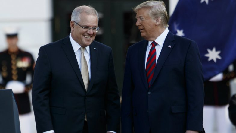 Donald Trump Asked Australian PM Scott Morrison to Help Probe Russia Inquiry