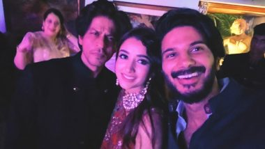 Dulquer Salmaan 'Starstruck' After Meeting Shah Rukh Khan in Amitabh Bachchan's Diwali Party, Says 'When King Khan is in the Room Nothing Else Matters'