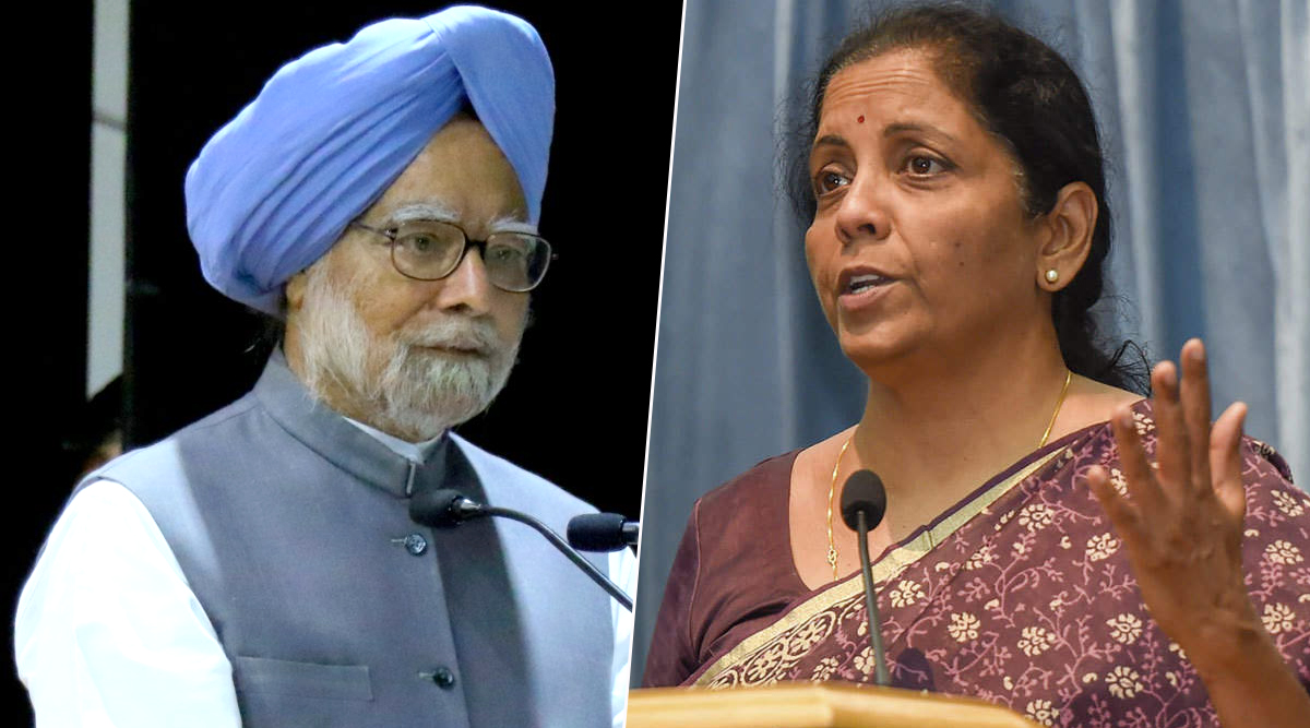 Dr Manmohan Singh Hits Back at Nirmala Sitharaman For Blaming Him For Bank Crisis, Seeks PM Narendra Modi's Intervention in PMC Bank Matter