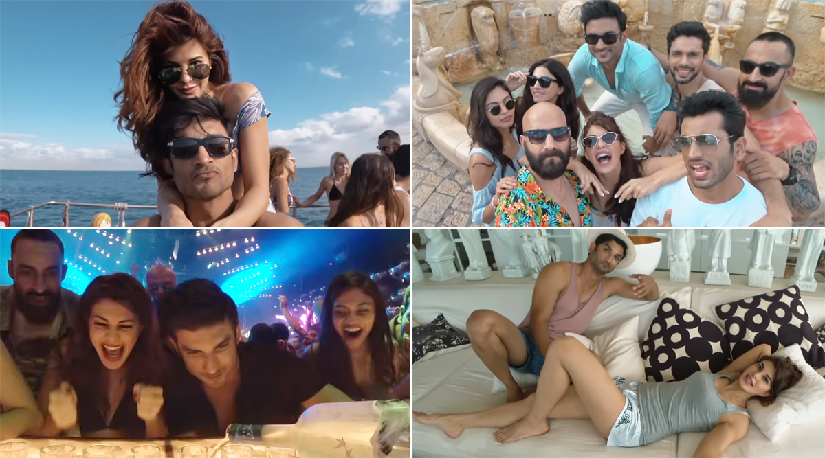 Drive Song Makhna: Sushant Singh Rajput and Jacqueline Fernandez's Peppy Song in This Netflix Film Is All Things Fun! (Watch Video)