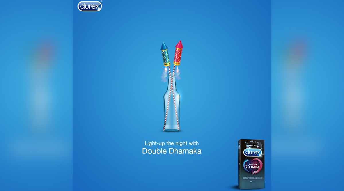 Durex India's 'Let the Sparks Fly' Diwali Tweet Promoting 'Mutual Climax Condoms' Makes Twitterati Angry, Users Report Ad
