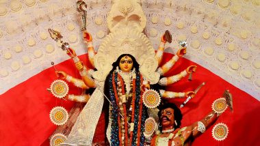 Durga Puja 2019 Maha Saptami Date: When is Nabapatrika Puja or Kala Bou Snan? Know Significance of Celebrations on Day 2 of Pujo in Kolkata