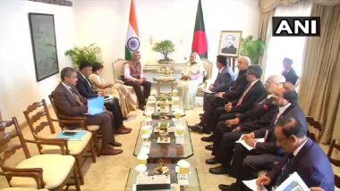 External Affairs Minister S Jaishankar Meets Bangladesh PM Sheikh Hasina in New Delhi