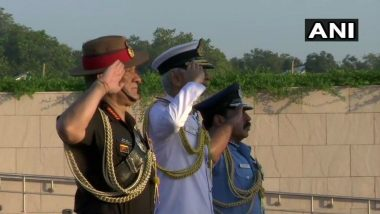 Air Force Day 2019: Service Chiefs Pay Tributes at National War Memorial