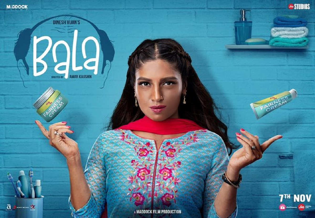 Bhumi Pednekar's Dusky Girl Look In Bala Leaves Twitter Really Angry