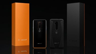 OnePlus 7T Pro McLaren Edition First Online Sale Tomorrow At 12PM IST Via Amazon; Prices, Features & Specifications