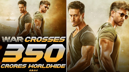 Hrithik Roshan and Tiger Shroff's War Crosses The Rs 300 Crore Mark - Deets here