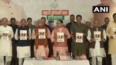 BJP Haryana Assembly Elections 2019 Manifesto: Modi Govt Promises Interest Free Crop Loan Up to Rs 3 Lakh for Dalit Farmers