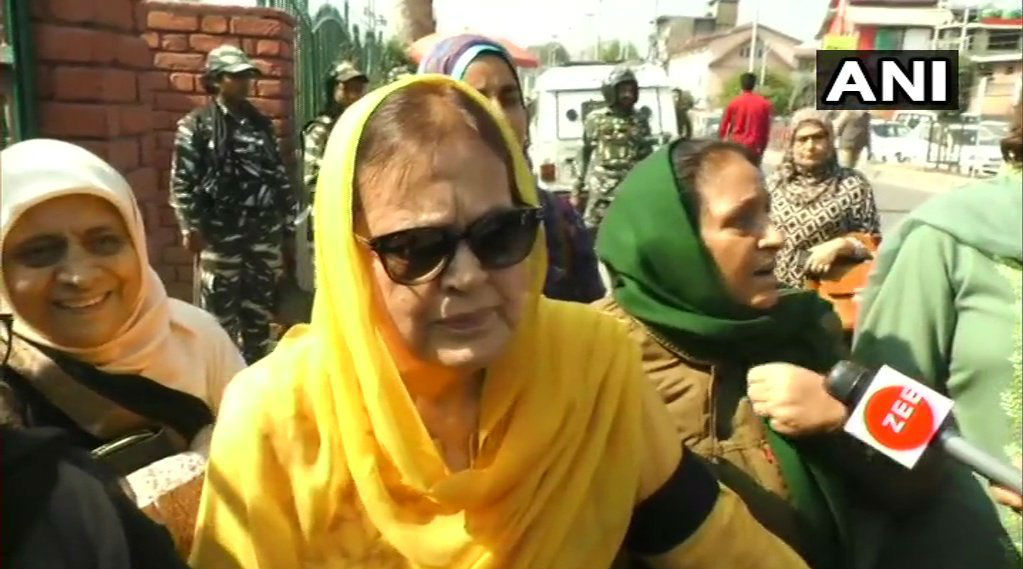 Jammu and Kashmir: Farooq Abdullah's Sister Suraiya, Daughter Safiya Released on Bail