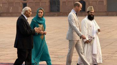 Prince William, Kate Middleton Visit Iconic Lahore Badshahi Mosque, Join Discussion on Promoting Interfaith Harmony