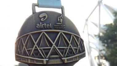 Airtel Delhi Half Marathon 2019: Srinu Bugatha Wins Gold in Indian Elite Men's Category