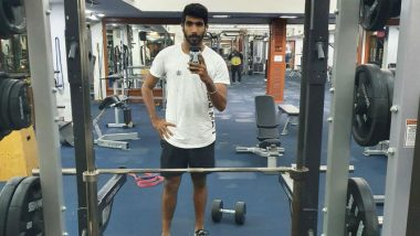Jasprit Bumrah Injury Update: Recovering Indian Pacer Hits The Gym, Shares Pic With Caption 'Coming Soon' on Twitter