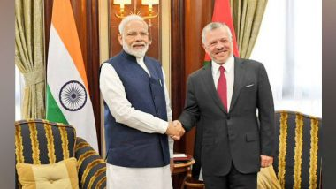 Saudi Arabia: PM Narendra Modi Meets King of Jordan Abdullah II in Riyadh, Discusses Ways to Strengthen Ties