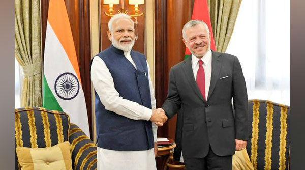 Saudi Arabia: PM Narendra Modi Meets King of Jordan Abdullah II in Riyadh, Discusses Ways to Strengthen Ties