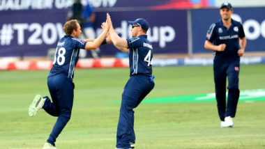 ICC T20 World Cup Qualifier 2019: Scotland Crush UAE By 90 Runs to Qualify for T20I World Cup 2020
