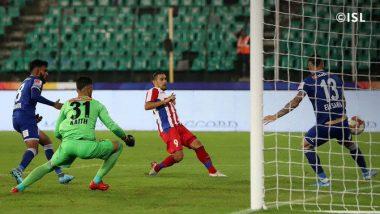 ISL 2019–20 ATK vs CFC Match Result: Atletico de Kolkata Edge Past Chennaiyin FC as David Williams Score in Hard-fought Battle