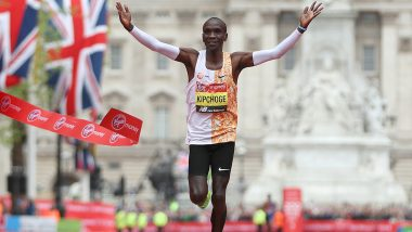 Eliud Kipchoge, Kenyan Runner, Shortlisted for World Male Athlete of the Year 2019