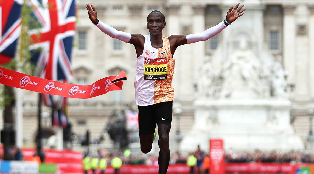 Eliud Kipchoge Becomes First Man to Complete Marathon in Less than Two Hours; Olympic Champion Finishes First-Ever Sub Two-Hour Marathon in Record Time