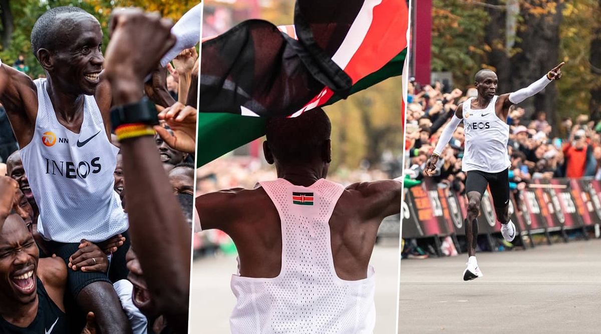 Eliud Kipchoge's Tweet on 'Go Beyond Limits' Before Becoming First Human to Run a Marathon in Under 2 Hours Is Truly Inspirational!