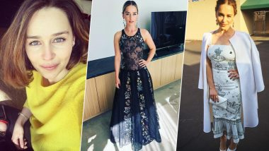Happy Birthday Emilia Clarke! Actress' Best Outfits from Instagram Tell Us Why She's the Khaleesi of Fashion