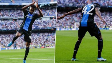 Emmanuel Bonaventure Impersonates Cristiano Ronaldo at Santiago Bernabeu; Club Brugge Striker Later Reveals He Wanted to Show Real Madrid What They've Lost