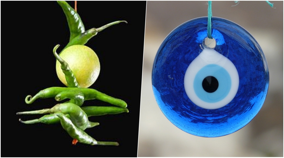 From Tying Nimbu Mirchi to Evil Eye Masks, These 5 Common Indian Superstitions to Ward Evil Eye Have No Religious Backing
