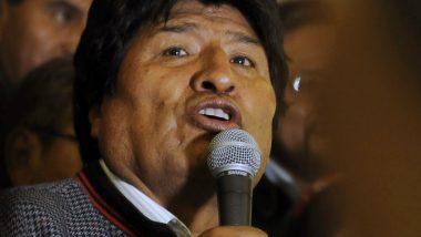 Bolivia Accuses Ex-President Evo Morales of 'Terrorism'