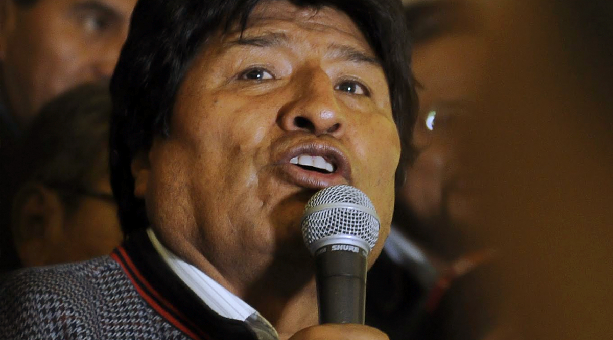 Evo Morales Narrowly Wins First Round in Bolivia Elections 2019, Faces Run-Off
