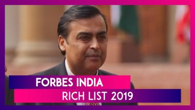 Forbes India Rich List 2019: Mukesh Ambani Tops The List Of Wealthiest Indians