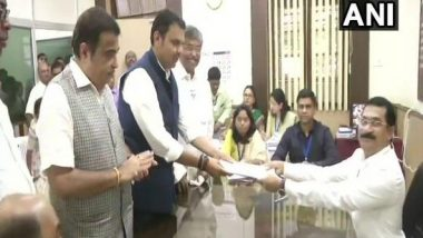 Maharashtra Assembly Elections 2019: Devendra Fadnavis Files Nomination from Nagpur South West