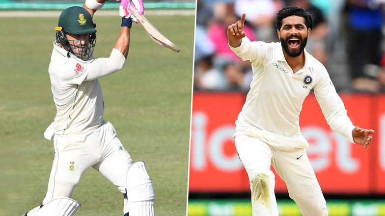 India vs South Africa 3rd Test 2019: Faf du Plessis vs Ravindra Jadeja & Other Exciting Mini Battles to Watch Out for in Ranchi