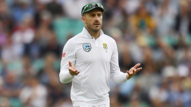 Faf du Plessis Under Scanner for Making 'Physical Contact' With Jos Buttler During South Africa vs England 4th Test 2020
