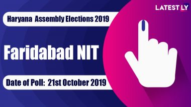 Faridabad NIT Vidhan Sabha Constituency in Haryana: Sitting MLA, Candidates For Assembly Elections 2019, Results And Winners