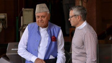 Jammu & Kashmir: Ex-CM Farooq Abdullah's Detention Extended For 3 Months by UT Administration
