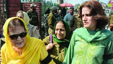 Farooq Abdullah's Sister Suraiya, Daughter Safiya Among Women-Activists Released From Detention by Jammu & Kashmir Police