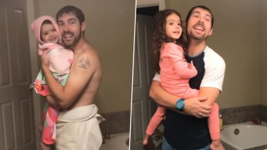 Father-Daughter Pair Who Went Viral For Lip Syncing 'Girls Like You...' Bring in a Cuter Sequel After a Year, Watch Video